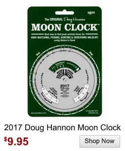 Doug Hannon Moon Clock 2017